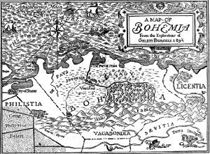 Gelett_Burgess_-_Map_of_Bohemia_1896